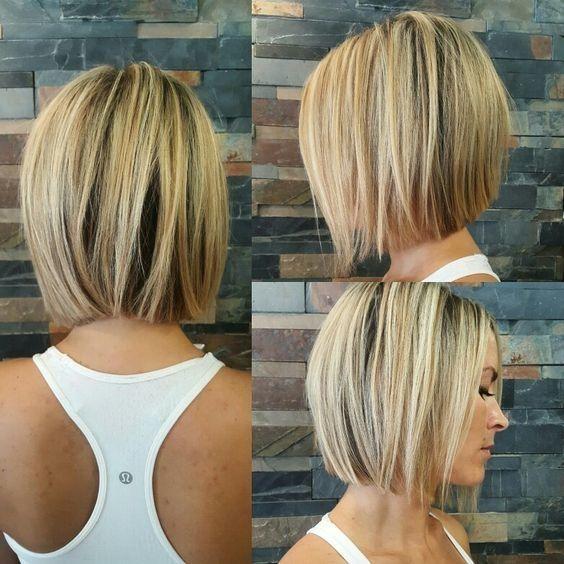 Id e tendance coupe coiffure femme 2017 2018 les cheveux mi longs les plus tendance en - Coiffure femme mi long 2017 ...