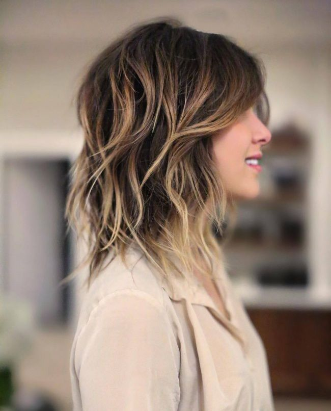 Idee Tendance Coupe Coiffure Femme 2017 2018 Cheveux Mi Longs