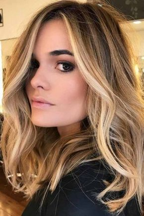 id e tendance coupe coiffure femme 2017 2018 blond caramel photos de balayage blond. Black Bedroom Furniture Sets. Home Design Ideas