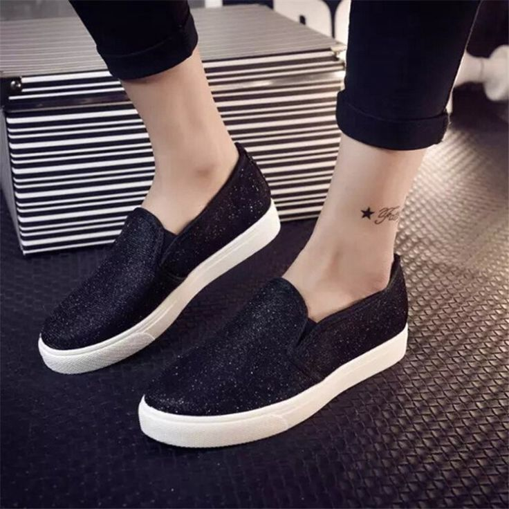 tendance chaussures 2017 2018 2015 mode f minine casual chaussures plates femmes printemps. Black Bedroom Furniture Sets. Home Design Ideas