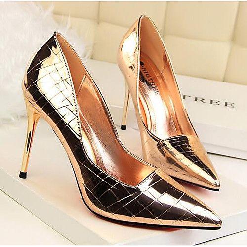 tendance chaussures 2017 2018 femme chaussures polyur thane printemps automne escarpin. Black Bedroom Furniture Sets. Home Design Ideas