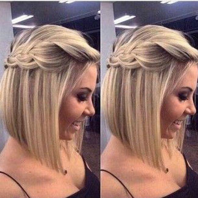 ModГЁles de coiffures de mariage pour cheveux courts