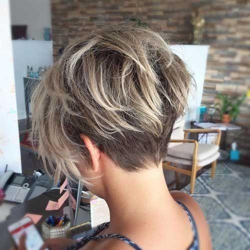 Coupe cheveux courte femme cheveux fins