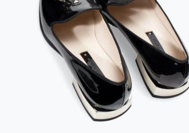 Tendance Chaussures 2017/ 2018  ZARA \u2013 FEMME \u2013 LOAFERS VERNIS