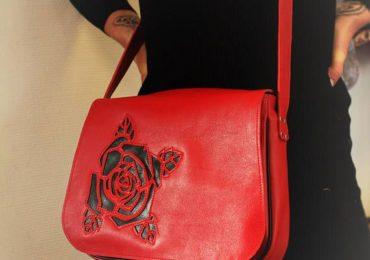38b826a98683e Tendance Sac 2017/ 2018 : sac bandoulière rouge sac besace femme besace  cuir femme