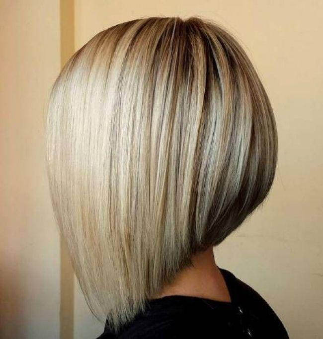 Coupe De Cheveux Carré Plongeant Court 2016 Au Salon De Laetitia
