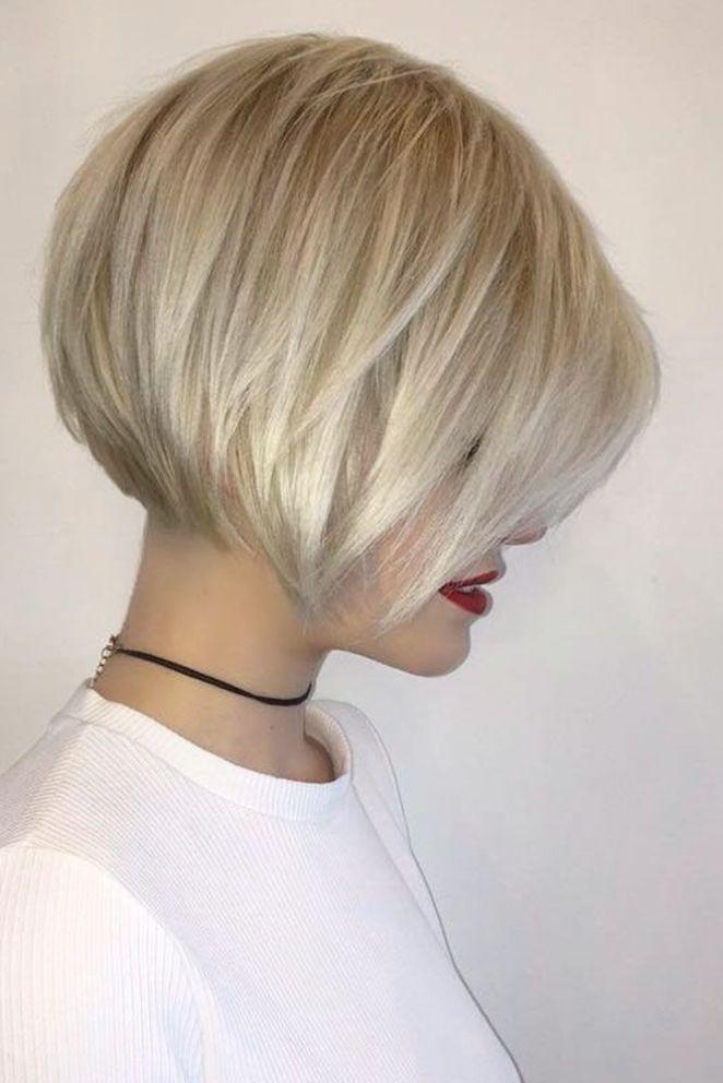 Nouvelle coupe de cheveux pour femme 2018