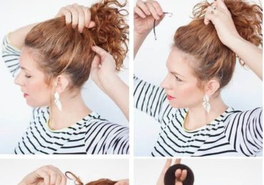 Coiffure Chignon Cheveux Long Boucles сoloration Cheveux