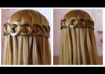 Coupe en u cheveux long