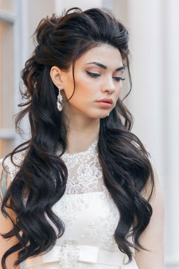 id e tendance coupe coiffure femme 2017 2018 une coiffure de mari e l ch e pour cheveux. Black Bedroom Furniture Sets. Home Design Ideas