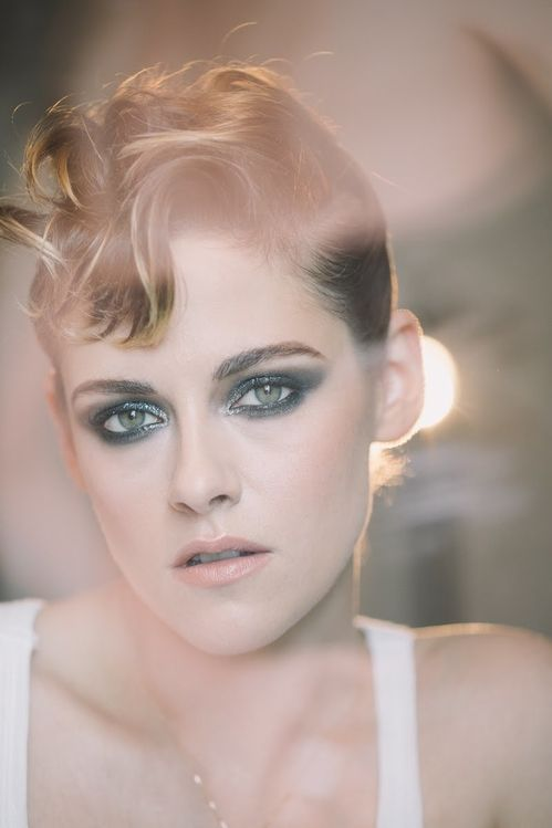 Inspiration Coiffure  En direct de la Suite Chanel a Cannes avec Kristen Stewart tuto ...