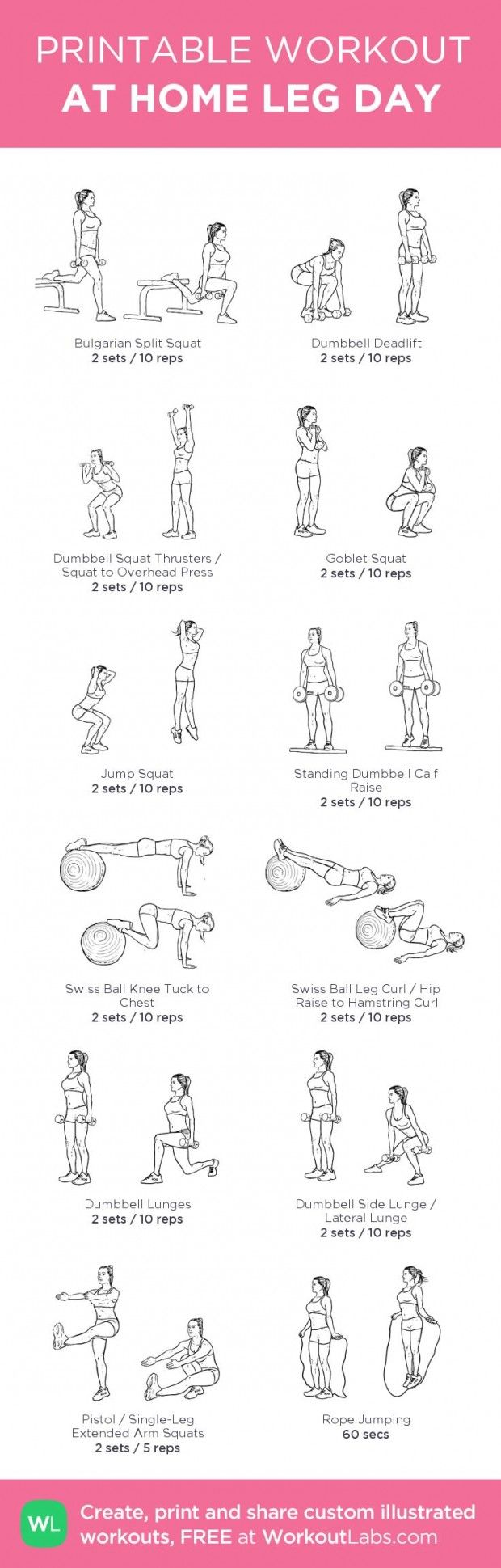 image relating to Printable Workouts at Home known as exercise chambly Archives - Website page 242 of 501 - Flashmode