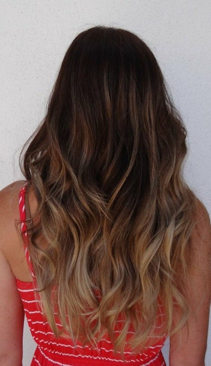 id e tendance coupe coiffure femme 2017 2018 coloration cheveux longs balayage blond. Black Bedroom Furniture Sets. Home Design Ideas