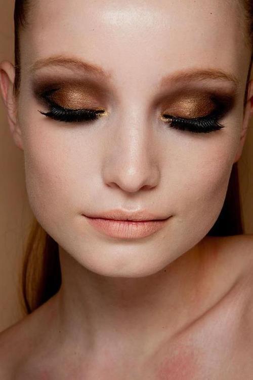 Description. yeux de bronze fumés
