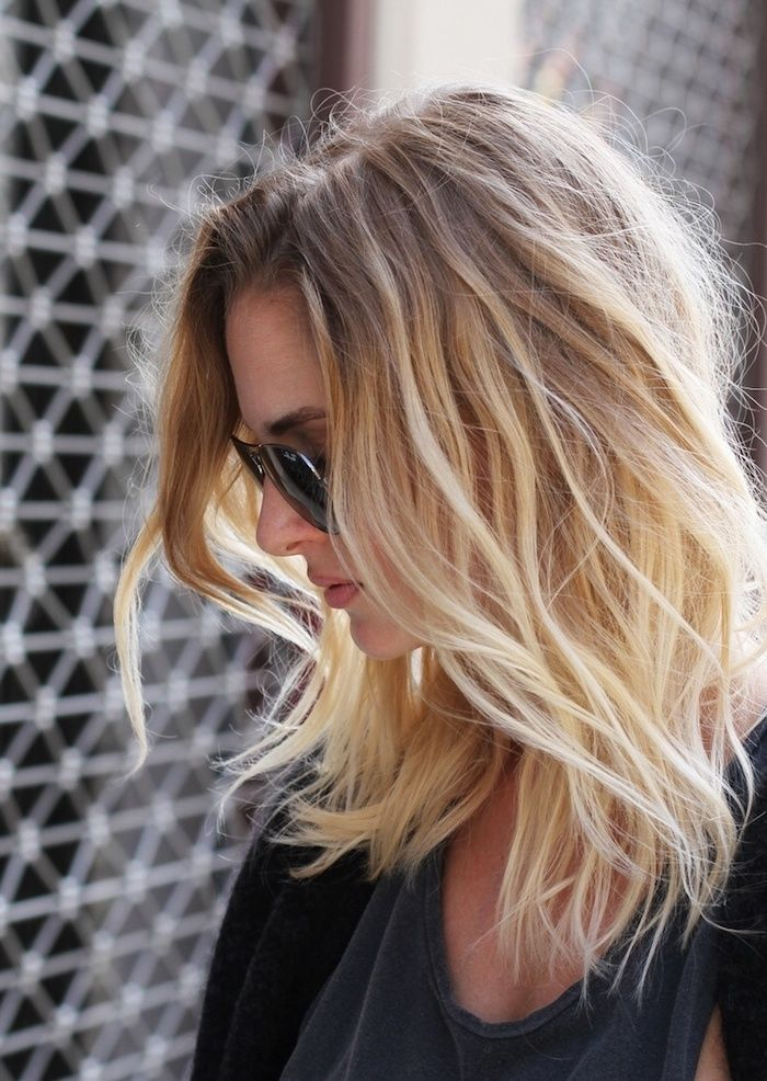Idee Tendance Coupe Coiffure Femme 2017 2018 Ombre Hair Blond