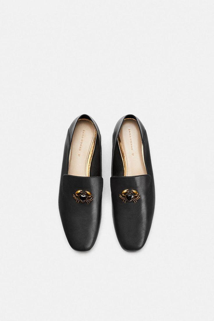 tendance chaussures 2017 2018 zara femme mocassins. Black Bedroom Furniture Sets. Home Design Ideas