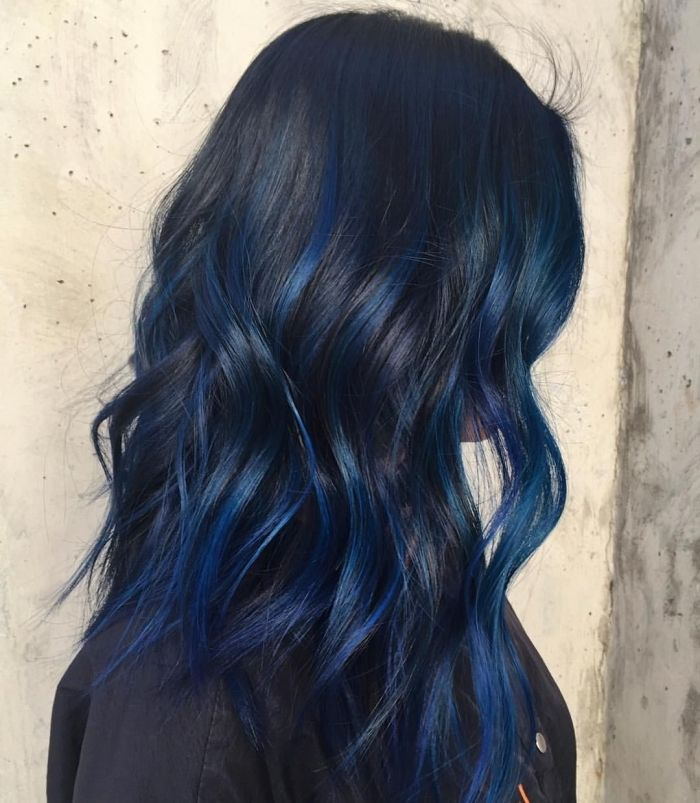 Idee Couleur Coiffure Femme 2017 2018 Tie And Dye Sur