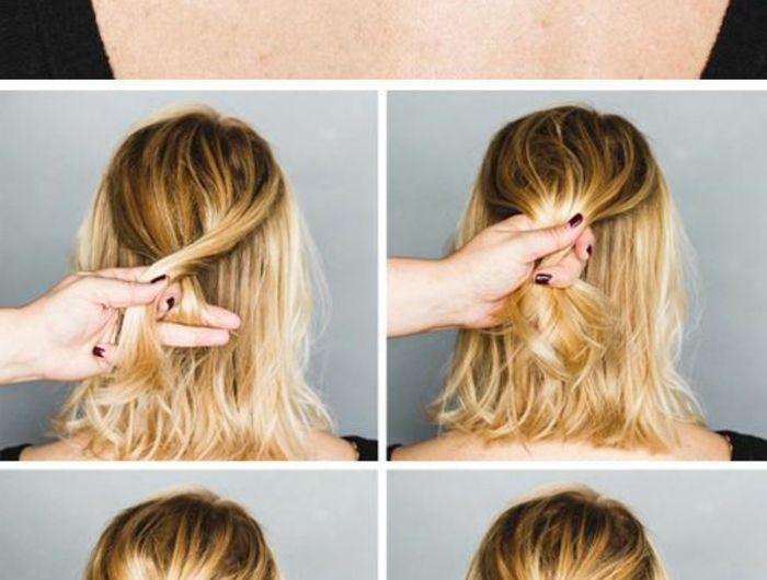 Coupe de cheveux simple femme Г la maison